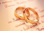 婚戒爱情的象征