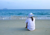 海边放心心情