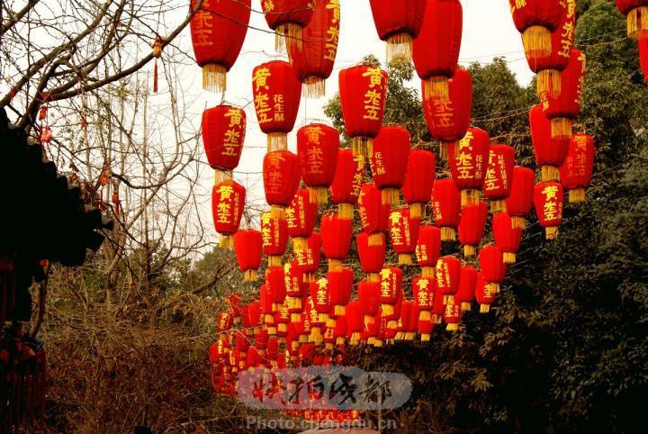 广州荔湾湖迎春灯色摄影图片】生活摄影_太